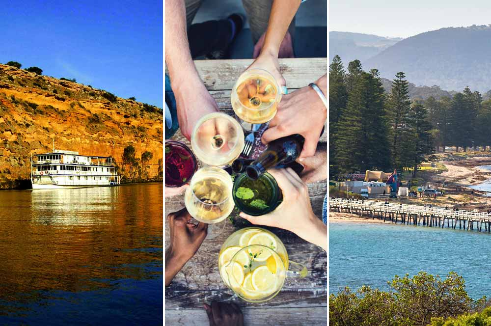 Great Sights 123 Save tour: Barossa Valley & hahndorf, River Murray, Victory Harbor