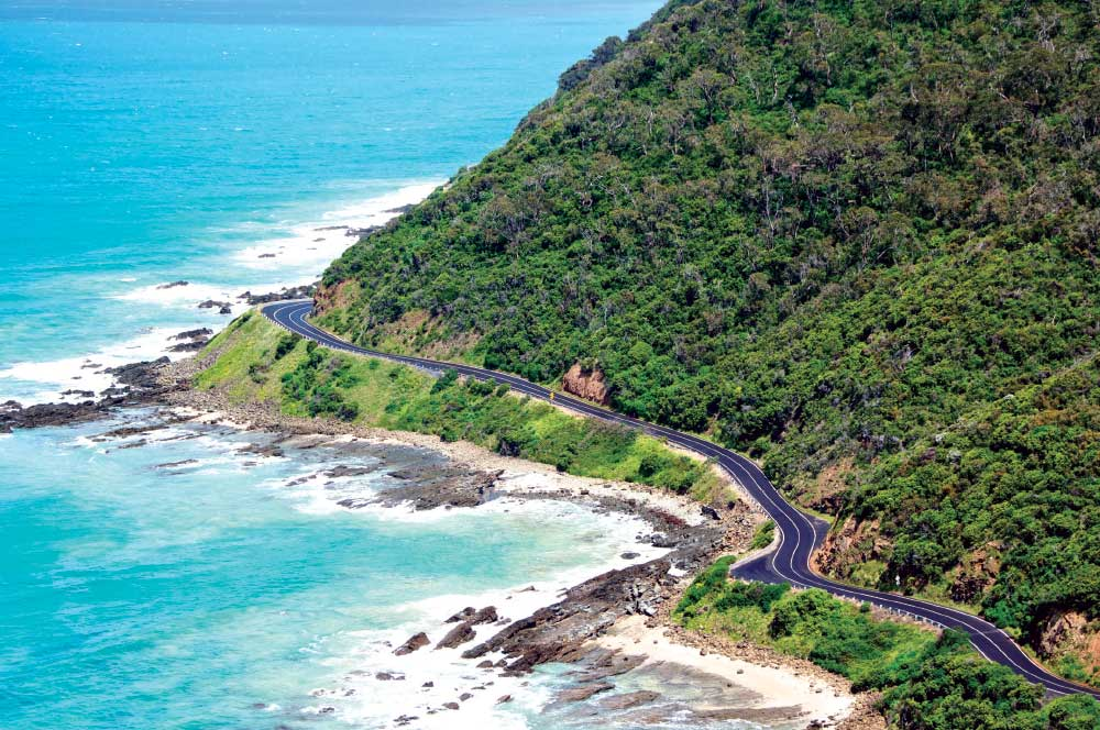 surf coast, great ocean road