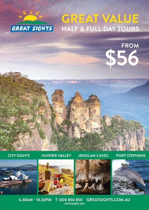 Great Sights Brochure Sydney
